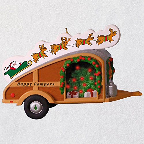 Hallmark Keepsake Christmas Ornament 2018 Year Dated, Happy Campers]()