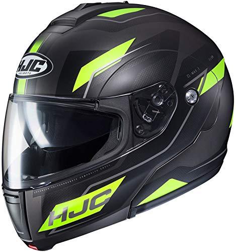 HJC Flow Men's CL-MAX 3 Modular Street Motorcycle Helmet - MC-3HSF / Large