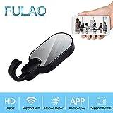 Spy Camera,FULAO Hidden Surveillance Clothes Hook Camera Remote Night Version 1080P Full HD