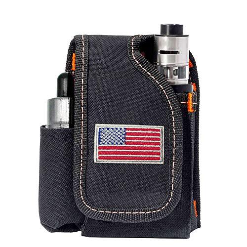 Vape Mod Carrying Bag, Vapor Case for Box Mod, Tank, E-Juice, Battery - Best Vape Portable Travel to Keep Your Vape Accessories Organized [CASE ONLY] (National - Mods Vape