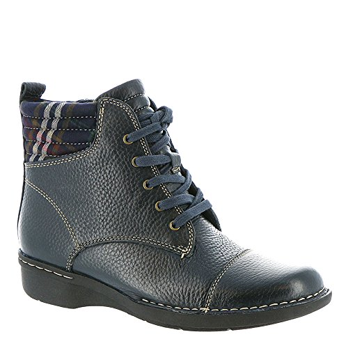 Clarks Womens Whistle Bea Boots Navy
