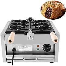 Forkwin Taiyaki Maker 3 PCS Taiyaki Machine 1-5 mins Taiyaki Ice Cream Machine Commercial Taiyaki Waffle Maker for Restaurant Home Use (2000W)