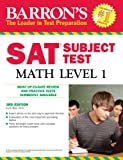 Barron's SAT Subject Test Math Level 1, Ira K. Wolf, 0764143557