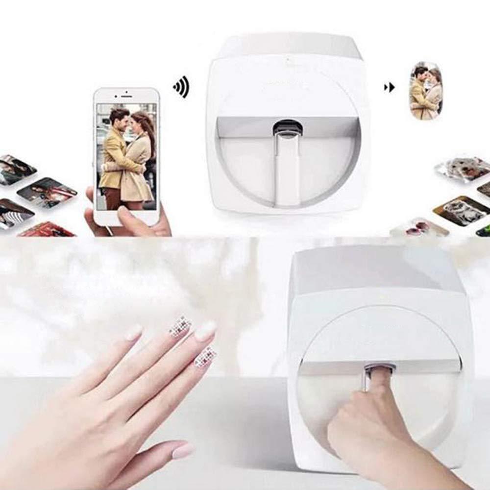DXXCV Impresoras de uñas 3D Máquina de Pintura portátil ...