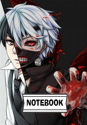 Notebook: Tokyo ghoul 01 : Journal Diary, 110 Lined pages, 7