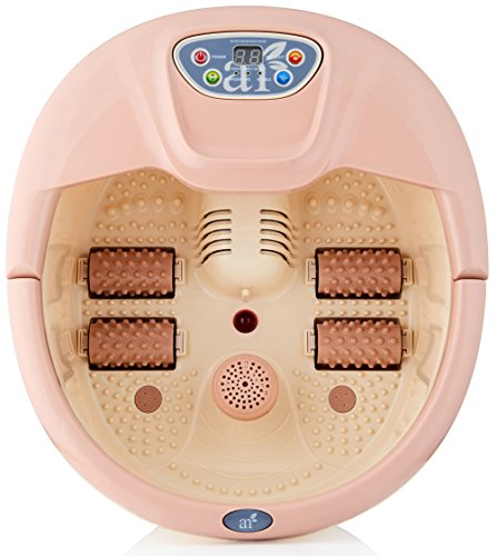 ArtNaturals Foot Spa Massager with Heat – Lights and Bubbles - Soothe and...