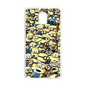 Happy Minions Para Dibujar Cell Phone Case for Samsung Galaxy Note4