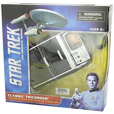 DIAMOND SELECT TOYS Star Trek: The Original Series Tricorder: Toys & Games