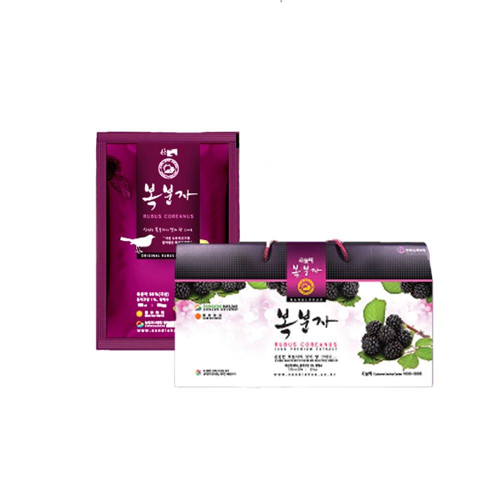 [Mountain Sea] Bokbunja Juice 30 Pack/Gift/Health Food/Pack/Bundle/Health Drink/Diet foods/Parents Gift/Vegetable