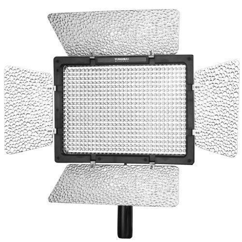 YONGNUO YN600L 600 LED 5500K Color Temperature Adjustable LED Video Light for Canon / Nikon / Sony Camcorder DSLR by Yongnuo