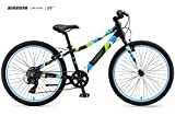 Guardian Lightweight Kids Bike 24 Inch, Safe Patented SureStop Brake System, Kids Mountain Bike, Bike Sizes for Kids 4'2' - 5'1', Boys Bikes and Girls Bikes (AS SEEN ON Shark Tank)
