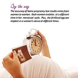PREGMATE 60 Pregnancy (HCG) Urine Test Strips, 60 HCG Tests