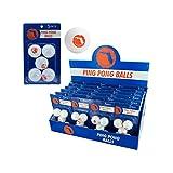 123-Wholesale - Set of 48 Florida Ping Pong Balls Countertop Display - Sporting Goods Indoor Games