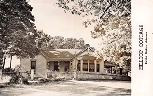 Real Photo Postcard Hilltop Cottage in Eureka Springs, Arkansas~110626 - Hilltop Cottage