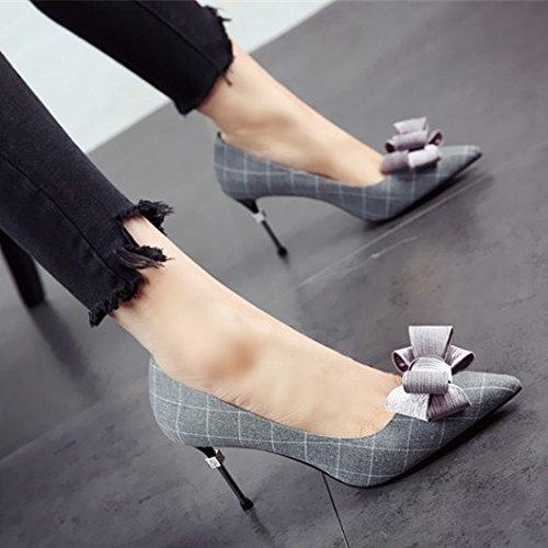 FLYRCX Primavera y otoño europeo moda personalidad sexy con tacones altos zapatos Zapatos Zapatos y zapatos a