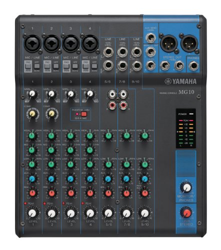 yamaha mg10 10 input stereo mixer buy online in uae. Black Bedroom Furniture Sets. Home Design Ideas