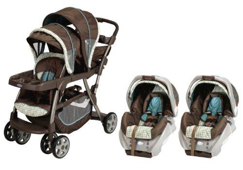 Amazon.com : Graco Ready2Grow LX Baby Stoller & SnugRide Car Seat ...