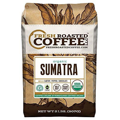 FTO Sumatra Coffee, Whole Bean, Fresh Roasted Coffee LLC (2 Lb.)