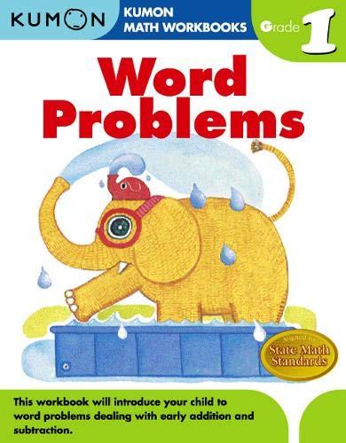 Word Problems Grade 1 (Kumon Math Workbooks)