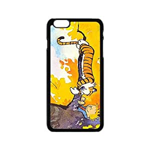 NICKER Calvin and Hobbes Fashion Comstom Plastic case cover For Iphone 6