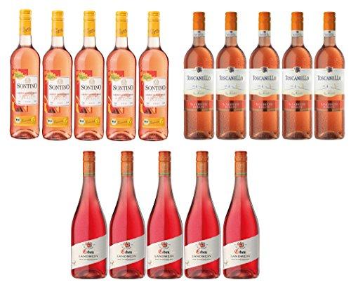 Großes Roséwein Probierpaket Halbtrocken (15 x 0.75l)