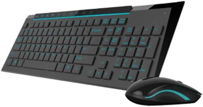 FJP Teclado inalámbrico teclado normal teclado Bluetooth ...
