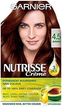 Garnier Nutrisse Creme 4,5 Castaño Caoba: Amazon.es: Salud y ...