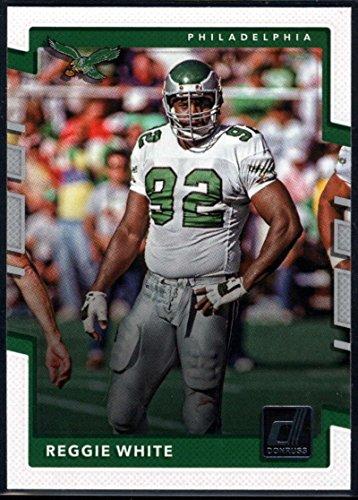 2017 Donruss #262 Reggie White Philadelphia Eagles Football Card (Card Football White)