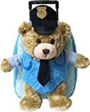 Best Travel Backpacks With Plush Friends - Kreative Kids Police Chief Bear Plush Rolling Backpack Review