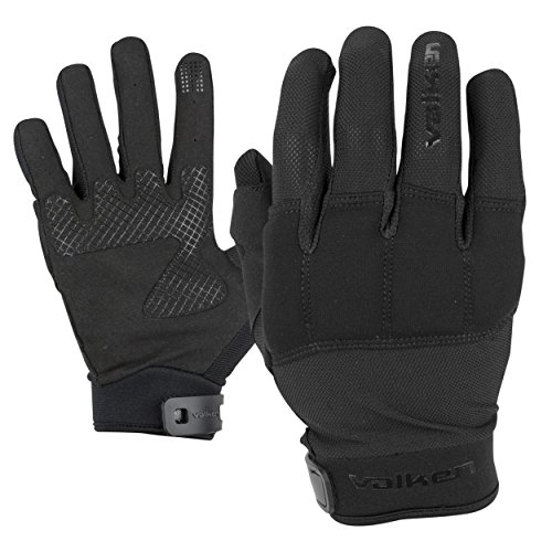 Valken Kilo Padded Knuckle Gloves - Black - Large ()