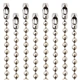 Ball Chain # 10 4.5mm connectors Stainless Steel 50