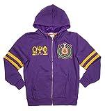 omega psi phi kids - Big Boy Headgear Omega Psi Phi Fraternity Mens New Zip-Up Hoodie 3XL Purple