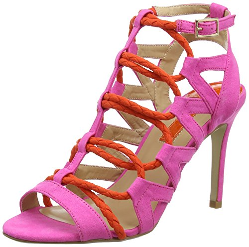 Dorothy Perkins Stunned - Sandalias con tacón Mujer Rosa (Pink)