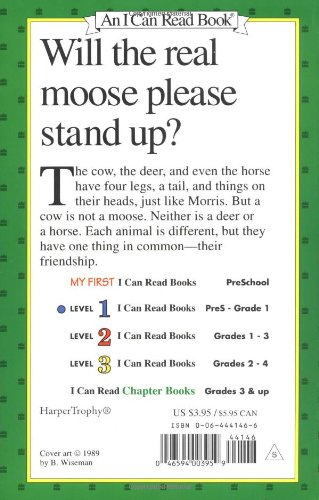 Counting Number worksheets inflectional endings worksheets 2nd grade : Amazon.com: Morris the Moose (I Can Read Level 1) (9780064441469 ...