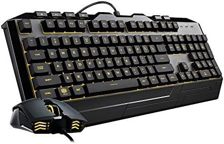 Cooler Master Devastator 3 - Combo de teclado y mouse para juegos, retroiluminación LED de 7 modos de color, teclas multimedia, configuración de 4 DPI 17