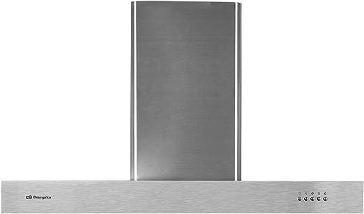 Orbegozo DS 56190 B IN - Campana extractora, 90 cm, acero inoxidable, extracción: 630 m3/h, chimenea ajustable, 3 niveles de potencia, 190 W: 166.98: Amazon.es: Hogar