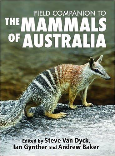 Book Field Companion to the Mammals of Australia