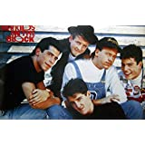 """NEW KIDS ON THE BLOCK the American Boy Band Group music Photo Print Poster Size 21""""x31"""" S-0290"""