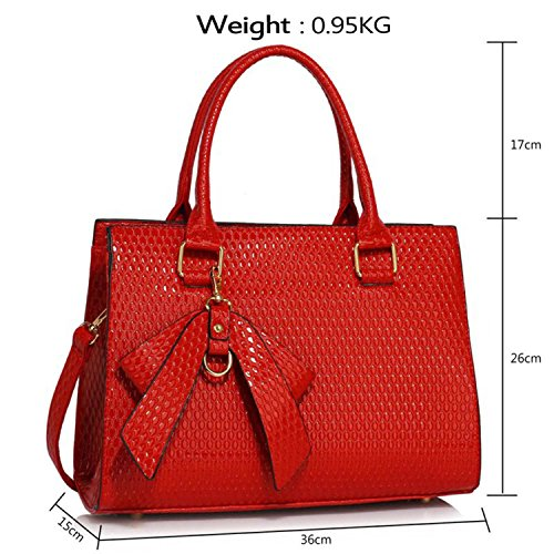 Xardi London - Borsa a tracolla donna Red