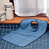 DSS Terry-Cloth Food Catcher (081601590 Jumbo, Blue - Pack of 5 (15 total))