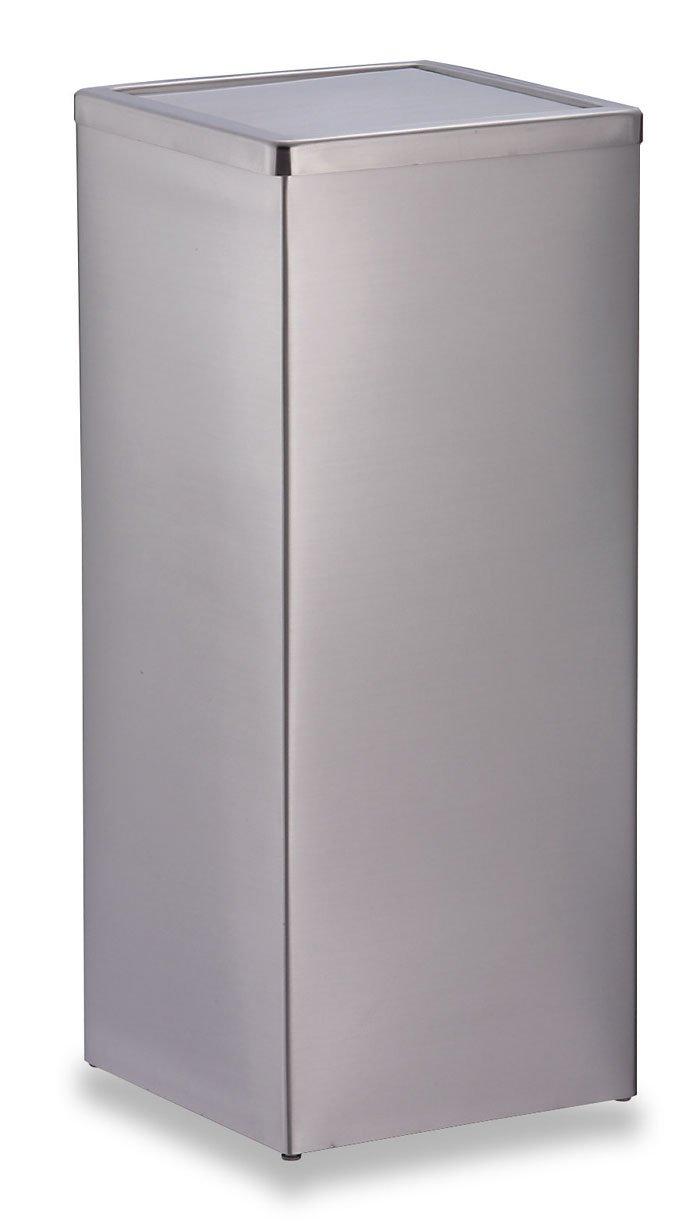 テラモト ゴミ箱 ステンレス角型屑入 GPX-41K 20L SU9552500 B002D1EWF8