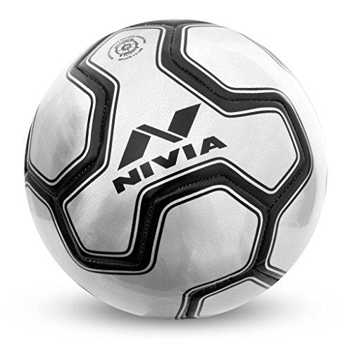 Nivia 3D Volcano Machine Stitched Football Size-3