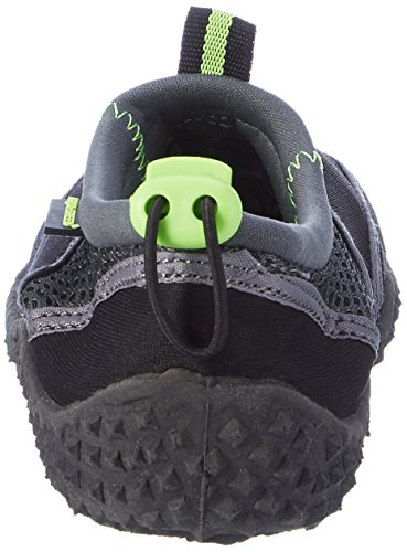 AQUA-SPEED zapatos/zapatillas de surf 2014 Negro/Verde/Gris