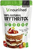 Erythritol Sweetener Granular (454 Grams / 16 OZ) - No Calorie Sweetener, Non-GMO, Natural Sugar Substitute (1 Pound)