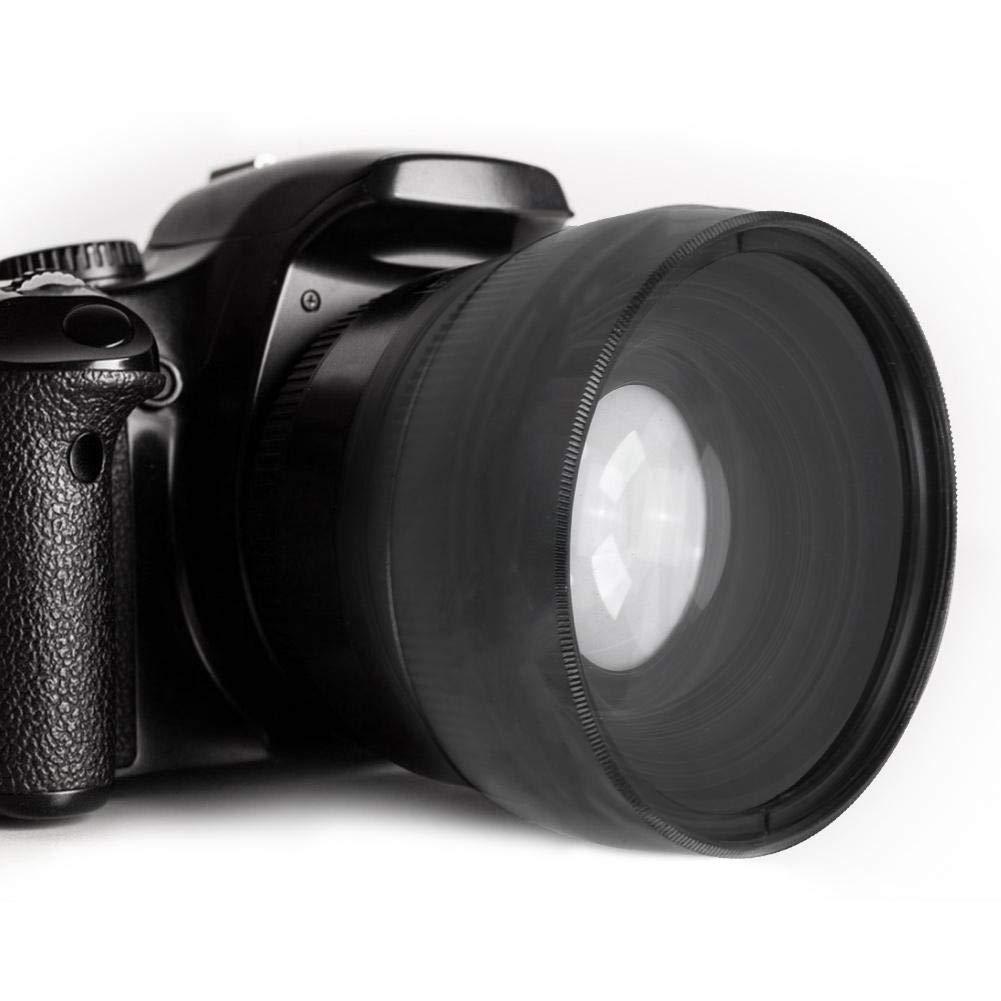 Lente de cámara de gran angular y conversión macro de 0.45X de 58 ...