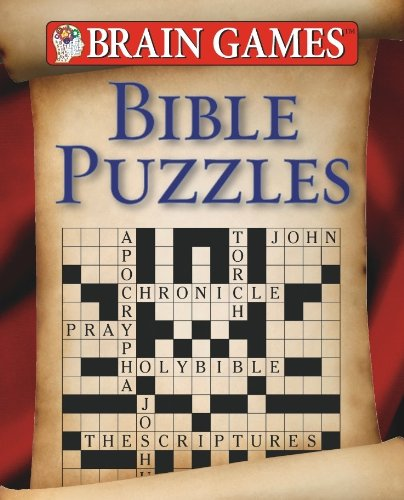 Brain Games: Bible Puzzles (Brain Games (Unnumbered)) Bible Games Puzzles