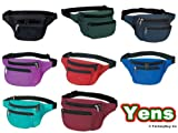 Yens FN-03 Fantasybag 3-Zipper Fanny Pack