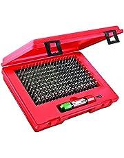 Starrett S4002-250 Precision Steel Pin Gauge Set, Sizes 0.061-0.250+