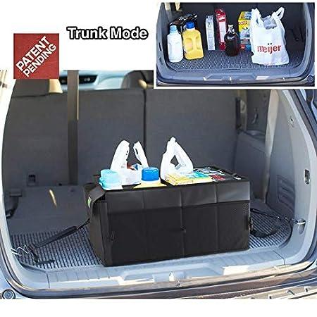 amazon com drive auto products car trunk organizer storage with