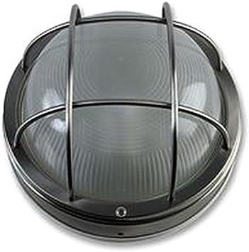 Lámparas de pared redondo al aire libre luz mampara - lámpara de ...